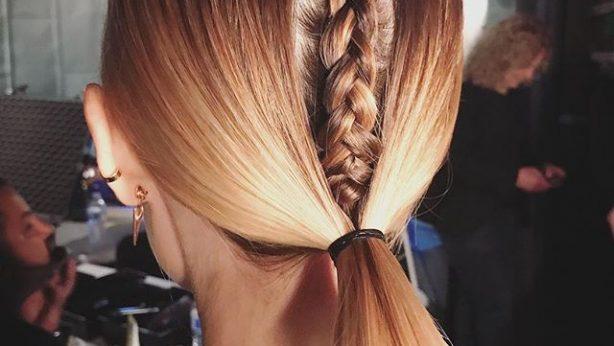 """Meine ideale Frisur für den Sommer: Pferdeschwanz """"Braided Skeleton"""""""