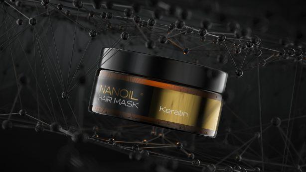 Nanoil Haarmaske mit Keratin – gibt sie professionelle Effekte? Meine Erfahrungen