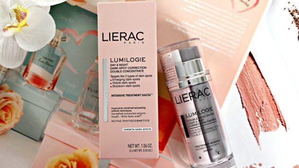 Verfärbungen schnell entfernen? Verwende Doppelkonzentrat Lumilogie von Lierac!