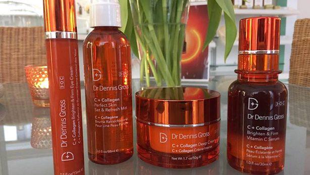 Die Kosmetikserie von Dr Dennis Gross: C + Collagen gegen Verfärbungen und Falten