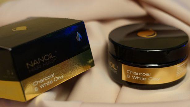 Nanoil Haarmaske mit Aktivkohle und weißer Tonerde – Rezension der wunderbaren Haarmaske